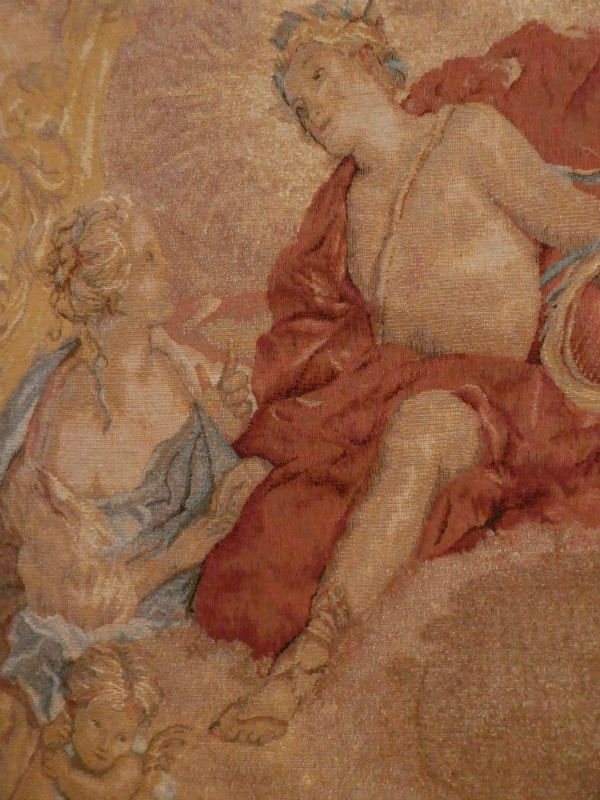Apollo and Clylie tapestry by Francois Boucher