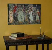 Arts and Crafts wall tapestries
