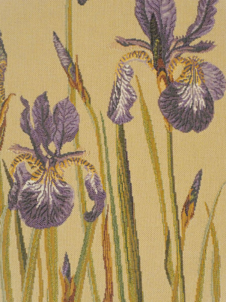 Bearded Irises Tapestry Fine French Tapestries
