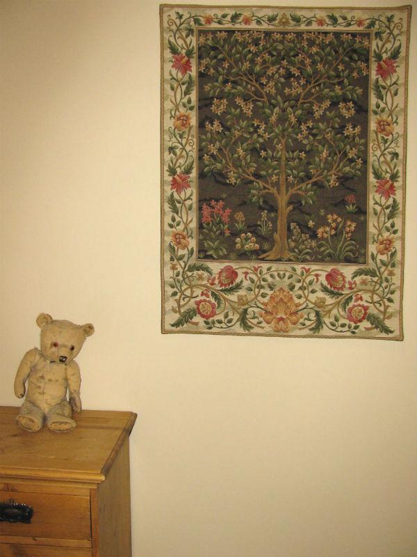 Brown Tree of Life tapestry - William Morris tapestries