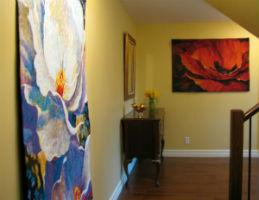 Contemporary wall tapestries