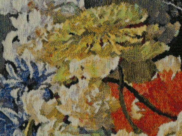 Detail of Bouquet Doré tapestry
