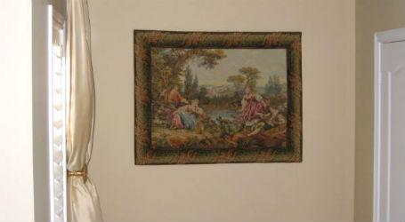 Francois Boucher tapestries - Italian tapestry wall-hangings