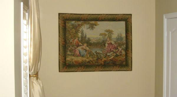 Francois Boucher tapestries - Country Couples tapestry