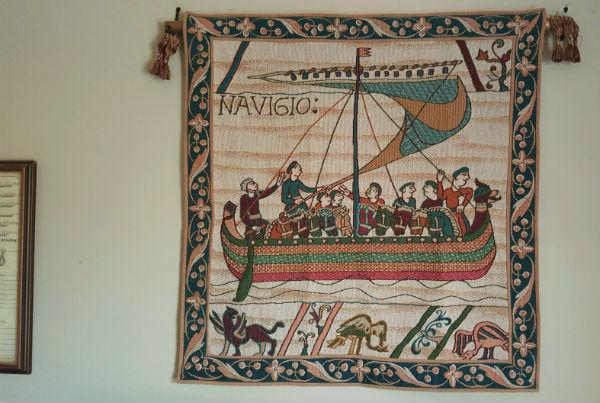 French tapestry wallhanging - Bayeux