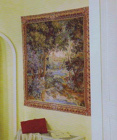 French wall tapestries