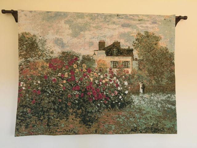 Giverny tapestry wallhanging