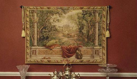Large horizontal tapestry wall-hangings