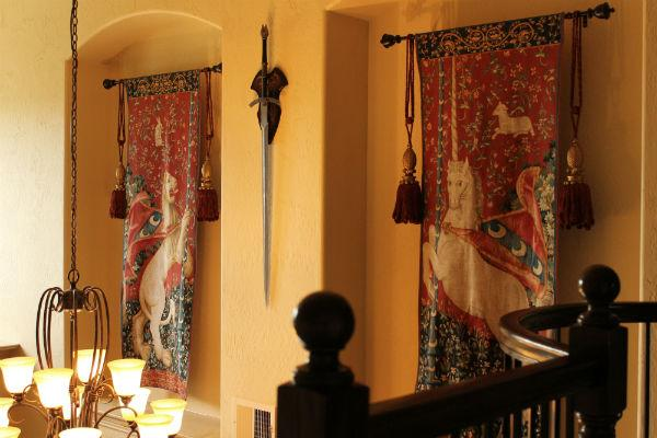 Lion tapestry - The Lady with the Unicorn tapestries