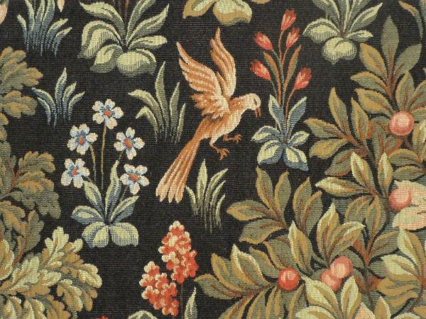 Close-up detail of Medieval Gallant tapestry