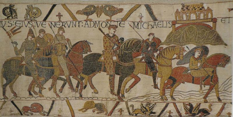 Mont St. Michel on The Bayeux Tapestry