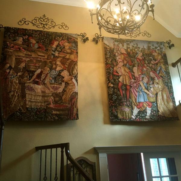 Pair of Cluny Museum tapestries