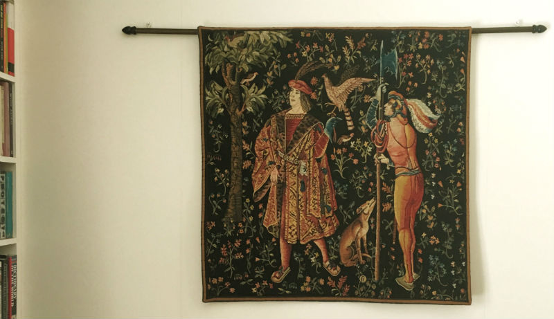 Scenes from a Lordly Life tapestries - Cluny Museum tapestry