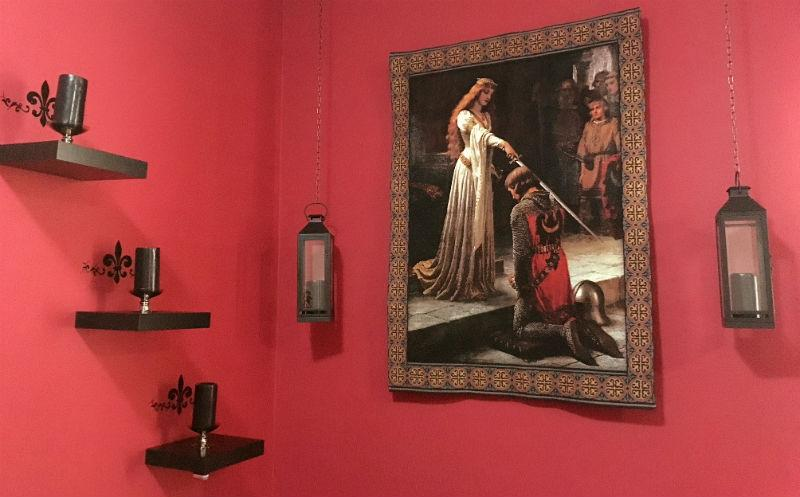 The Accolade tapestry hanging in a home in the UAE