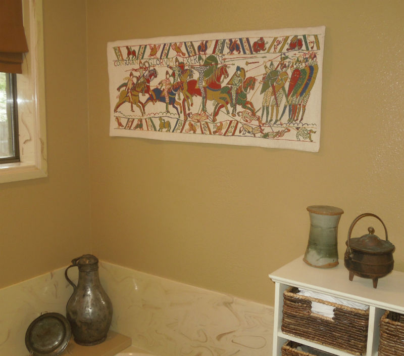 The Bayeux Tapestry Battle of Hastings wallhanging