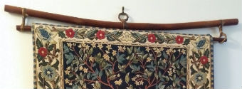 Wall tapestry hanger from Ten Thousand Villages