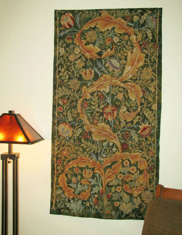 William Morris portiere hanging