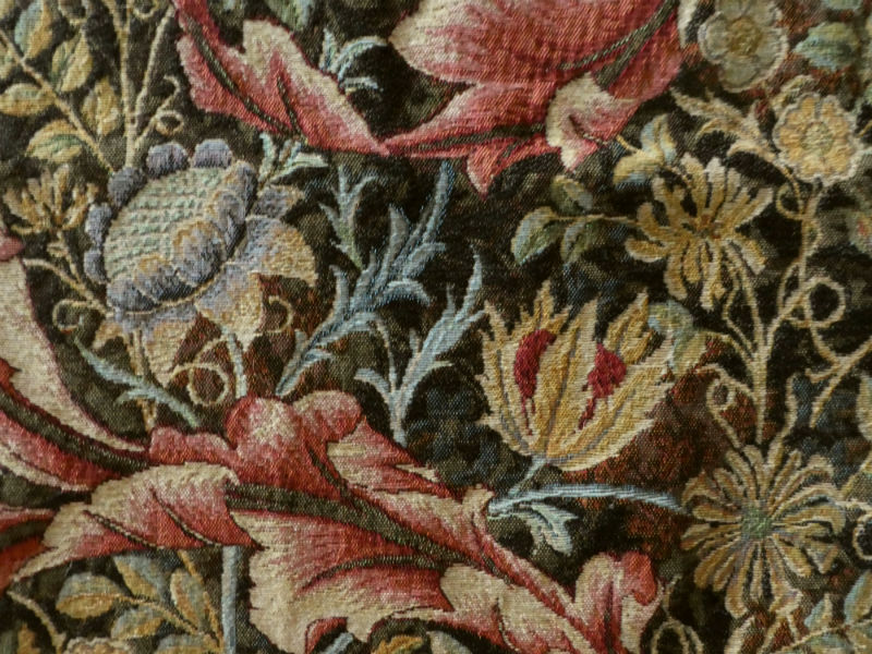William Morris portiere tapestry