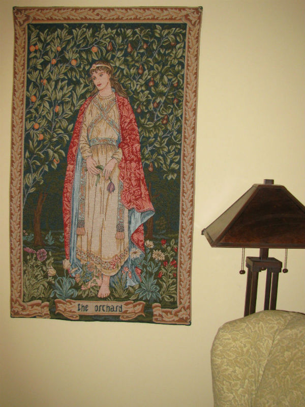 The Orchard Tapestry Wallhanging William Morris Tapestries