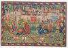 Tournament at Camelot tapestry