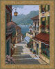 Bellagio Village tapestry - Lake Como tapestries