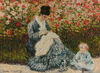 Camille and a Child in the Garden tapestry
