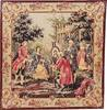 French tapestry painting