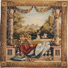 Chateau Bellevue square tapestry,
