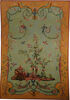 Chinoiserie tapestry wall-hanging