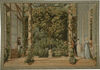 Conservatory in Paris tapestry