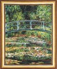 Monet bridge at Giverny - Belgian tapestry