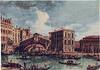 Rialto Bridge tapestry - Canaletto