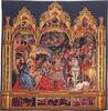 Adoration tapestry - religious tapestries