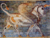 The Winged Bull tapestry - ancient art tapestries