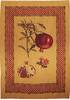 Pomegranate chenille wall-hanging