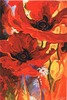 Bright New Day tapestry - poppies