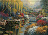 Giverny Pond tapestry - Bob Pejman art