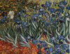 Irises in Garden tapestry