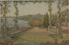Lake and Terrace - tapestry on sale