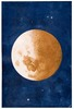 Lune tapestry - The Moon wallhanging