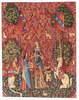 Smell medieval tapestry