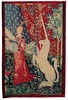 Maid and the Unicorn tapestry - Cluny Museum tapes