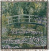 Monet Pont de Giverny Throw