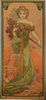 Mucha Spring tapestry - Art Nouveau tapestries