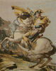 Napoleon Crossing the Alps tapestry wallhanging