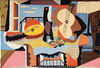Mandolin and Guitar 1924 tapestry