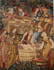 Pressing the Grapes tapestry