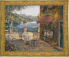 Trattoria at Lake Como tapestry