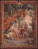 Diana tapestry wall hanging