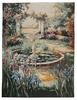 Garden Fountain tapestry